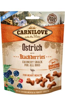 Carnilove Dog Crunchy Snack Ostrich & Blackberries 200 g
