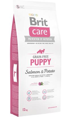 Brit Care Dog Grain-free Puppy Salmon & Potato 3 kg