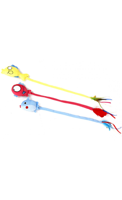 Eurosiam Brinquedo Peixe Longo com Catnip