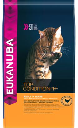 Eukanuba Cat Adult Top Condition 1+ Chicken & Liver 2 Kg