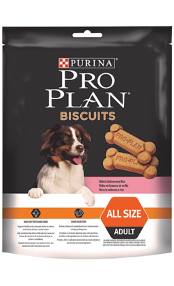Pro Plan Dog Biscuits Adult Salmon & Rice 400 g