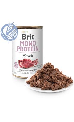 Brit Care Dog Mono Protein Lamb (Lata) 6 x 400 g