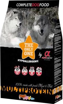Alpha Spirit Dog Dry Food Multiprotein 3 Kg