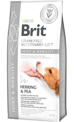 Brit Veterinary Diet Dog Joint & Mobility Grain-Free Herring & Pea 2 kg