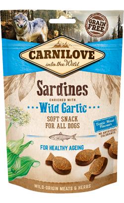 Carnilove Dog Soft Snack Sardines & Wild Garlic 200 g