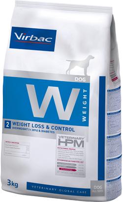 Virbac Veterinary HPM W2 Dog Weight Loss & Control 3 kg