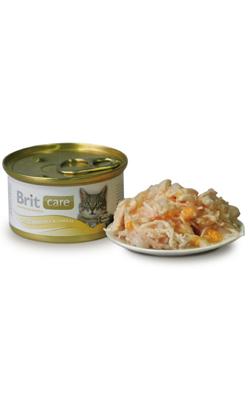 Brit Care Cat Wet - Chicken Breast & Cheese - 6 x 80 g