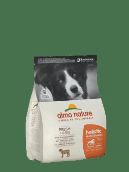 Almo Nature Dog Dry Holistic Adult Medium Fresh Lamb 12 kg