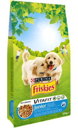Friskies Cão Junior Frango, Leite e Verduras 3 kg