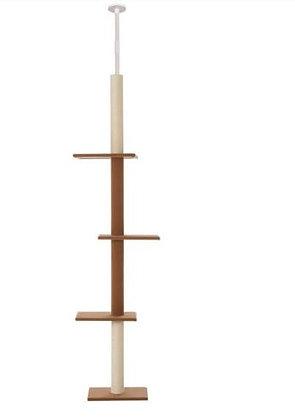 Arranhador - Chão ao tecto - 3 andares