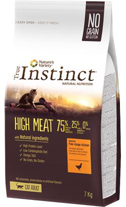 True Instinct Cat Adult High Meat Free-Range Chicken 1 kg