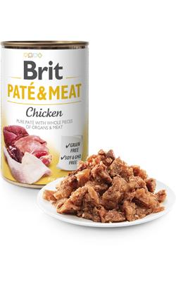 Brit Care Dog Paté & Meat Chicken - Wet (Lata) - 6 x 400 g
