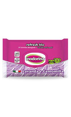 Inodorina Toalhetes Refresh Bio Lavanda & Camomila 30 Toalhetes