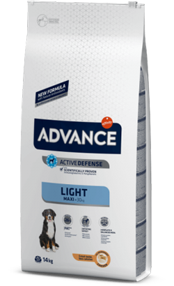 Advance Dog Maxi Light Chicken & Rice 14 Kg
