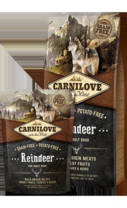 Carnilove Reindeer Adult Dog 12 kg