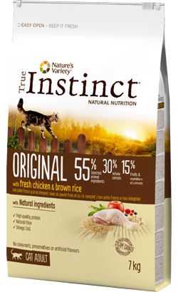 True Instinct Cat Adult Original Chicken & Brown Rice 7 kg