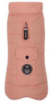 Capa Jacket Rosa - com forro polar