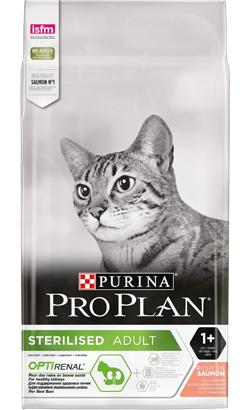 Pro Plan Cat OptiRenal Sterilised Adult Salmon 3 Kg