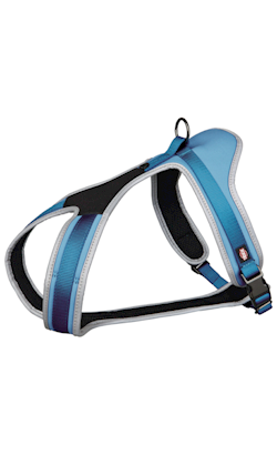 Trixie Peitoral de Passeio Experience 20 mm - 45x70 cm - Azul