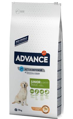 Advance Dog Maxi Junior Chicken & Rice 14 Kg