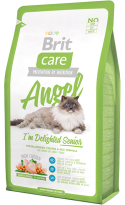 Brit Care Cat Angel Senior High Chicken 2 kg