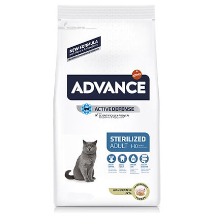 Advance Cat Sterilised Turkey & Barley 1,5 kg