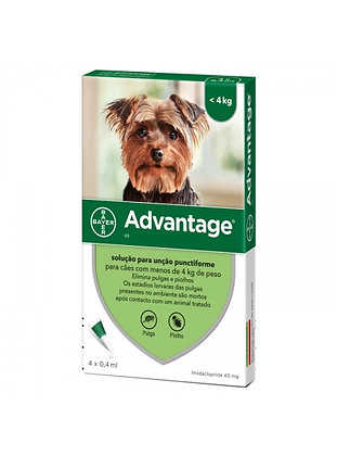 Advantage cão até 4 kg