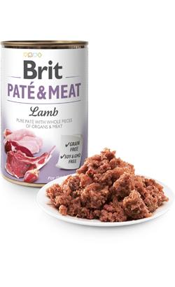 Brit Care Dog Paté & Meat Lamb - Wet (Lata) - 6 x 400 g