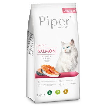 Piper Cat sterilised Salmon 3 kg