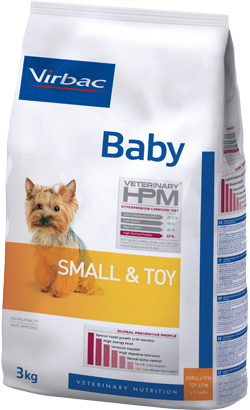 Virbac HPM Baby Dog Small & Toy 3 kg
