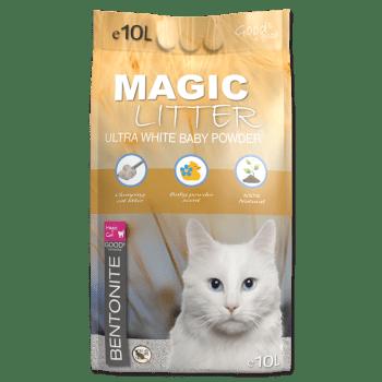 Cominter Magic Litter Ultra White Baby Powder