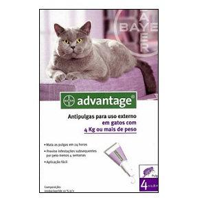 ADVANTAGE 80 GATO > 4 KG