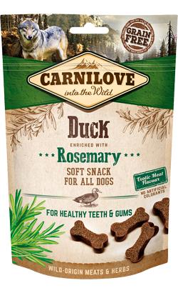 Carnilove Dog Soft Snack Duck & Rosemary 200 g
