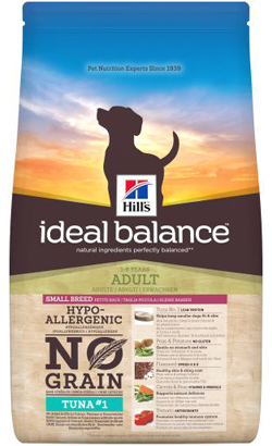 Hills Ideal Balance Canine Adult Small Breed No Grain with Tuna & Potato 2 kg