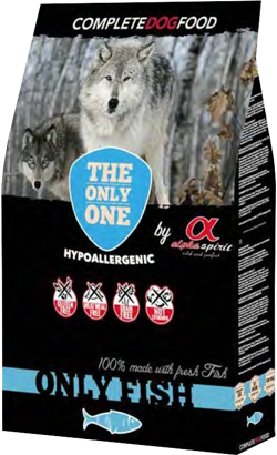 Alpha Spirit Dog Dry Food Only Fish 12 Kg