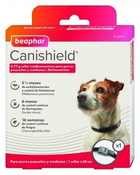 Colar Anti-parasitário Canishield Cão 48 cm