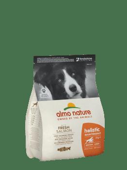 Almo Nature Dog Dry Holistic Adult Medium Fresh Salmon 2 kg