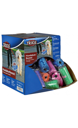 Trixie Assortment Dog Dirt Bags - 5 Rolos