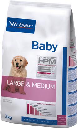 Virbac HPM Baby Dog Large & Medium 12 kg