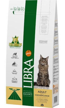 Libra Gato Adulto Frango 1,5 kg
