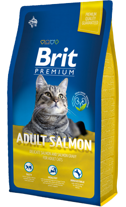 Brit Blue Cat Adult Salmon 8 kg