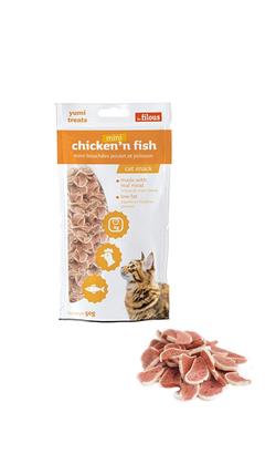 Eurosiam Snack Mini Chicken & Fish 50 g