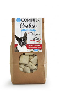 Cominter Dog Snack Cookies Burger King 500g