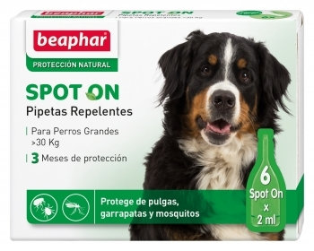 Beaphar pipetas replentes - cão grande - 6 X 2 ml