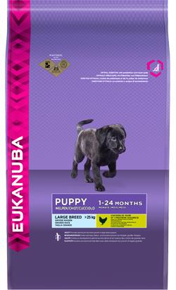 Eukanuba Puppy Large Breed Chicken 12 Kg