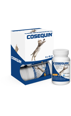 Condroprotector Cosequin Advanced para Gatos 45 Cápsulas