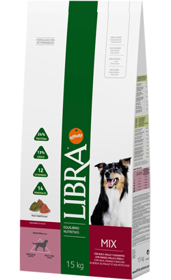 Libra Cão Adulto Vaca 3 kg