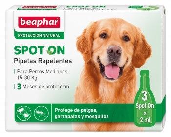 Beaphar pipetas replentes - cão médio - 3 x 2 ml