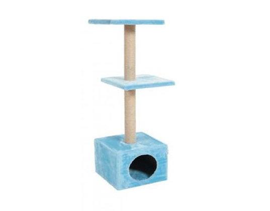 Arranhador PL duo cor azul - 83x30x30cm