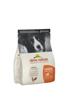 Almo Nature Dog Dry Holistic Adult Medium Fresh Chicken 12 kg